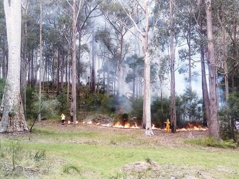 Malua Bay Rural Fire Brigade burnoffs