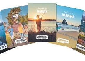 "Tourism brochures available for those visiting ""fish"" that aren't yet on-line"