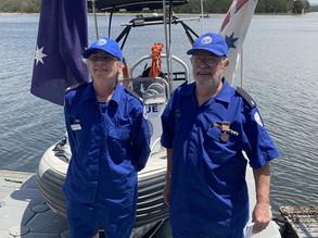 Tuross Marine Rescue celebrates Mike Byron