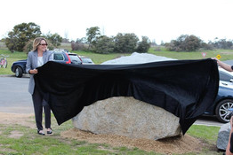 Moruya granite unveiled