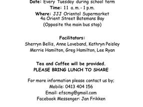 Free English Classes in Batemans Bay