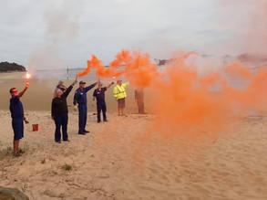 Expired flares to Preddeys Wharf, Sth Head, Moruya this Saturday, Nov 21