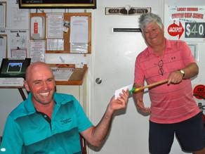 Craig Garn wins stableford golf competition