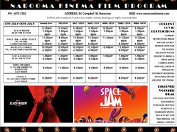 Narooma Kinema program July 8th to 14th