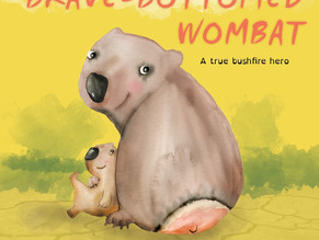 Brave Bottomed Wombat Childrens Book