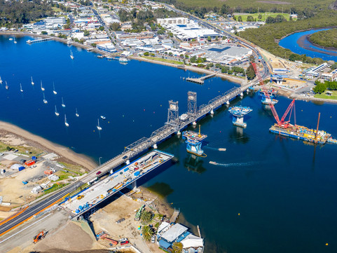 South Coast Pix: Batemans Bay Bridge project update