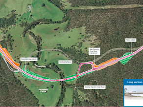 Princes Highway Upgrade At Dignams Creek Complete