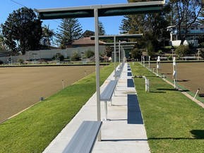 Tuross Head Bowling Greens  Looking Magnificent after Makeover