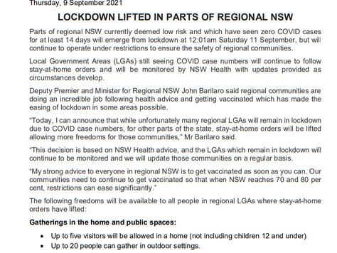 Stay at Home remains in place for Bega and Eurobodalla