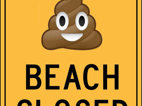 Are Elevated Enterococci warning signs required for summer visitors to SURF BEACH?