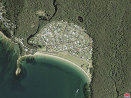 Inability of the residents of Maloneys Beach to obtain a 'safe from bushfire' environment.