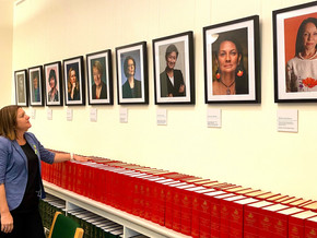 Women's Wall unveiled in Labor Caucus Room at Parliament House