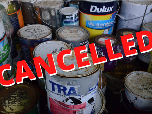 Cancelled chemical cleanout Covid casualty