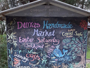Durras Handmade Market SATURDAY, 3 APRIL 2021