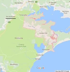Map data ©2016 Google
