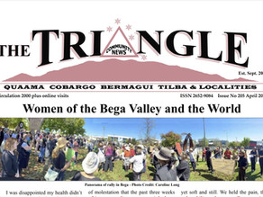 April 2021 edition of The Triangle OUT NOW