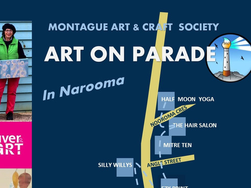RIVER of ART: Art on Parade in Narooma, Tilba and Bermi