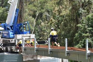 Work continues to reopen Araluen Road