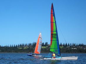 Bega Boys Battle with Coila Catamarans