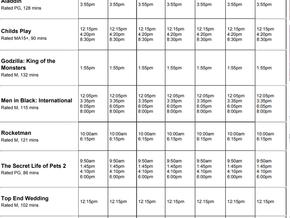 Perry Street Cinemas program Jun 20th to 26th