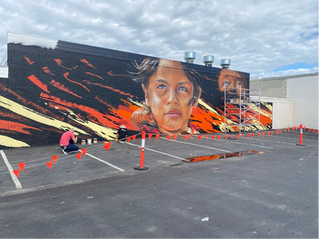 New 30m mural for Batemans Bay gateway