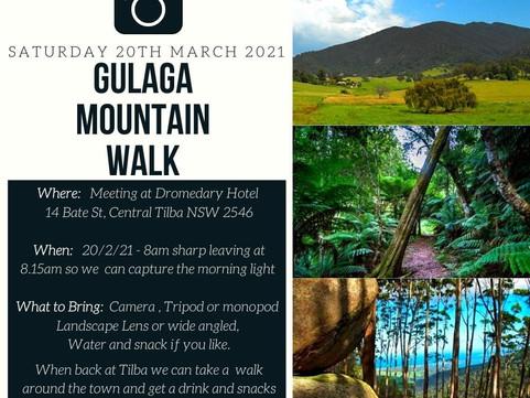 Narooma Camera Club - Outing for Members - Gulaga Mountain Walk
