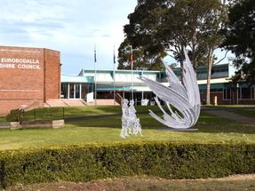 OCEAN statue for Moruya