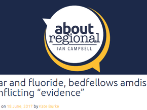 "Fear and fluoride, bedfellows amidst conflicting ""evidence"""