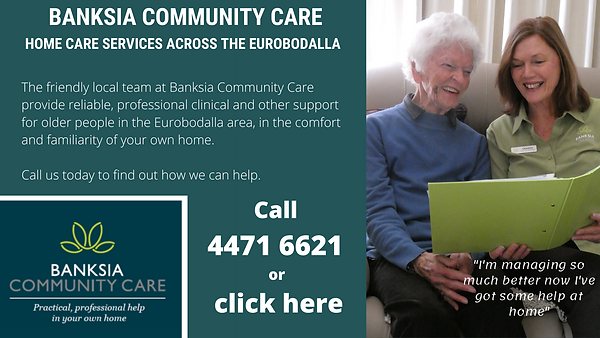 Banksia Community Care Banner Ad - draft