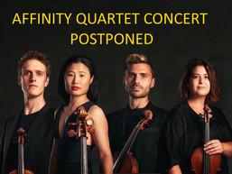 POSTPONED: Montague Visiting Artists presents Affinity Quartet