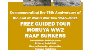 Moruya Bunker tour August 14th