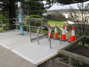 New cycle rack at Coila