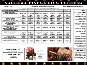 Narooma Kinema program June 24th to 30th