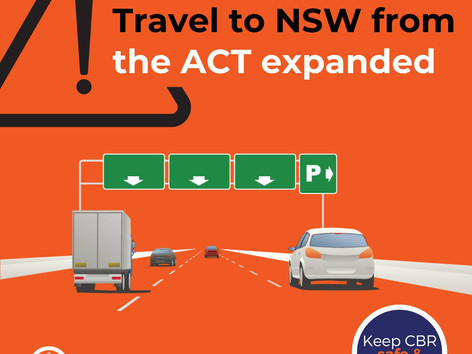 South Coast welcomes ACT visitors after 12 noon 16th October under new rules
