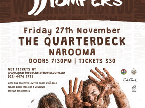 Quarterdeck Narooma presents : The Swamp Stompers - Friday 27th Nov