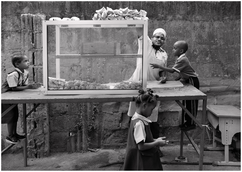 Morning Tea Zanzibar- Yvonne Matthews