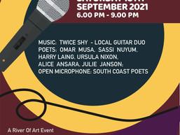 Moruya Poetry and Music Night Sept 18th