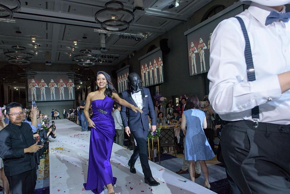 婚禮攝影 | Nick & Jessica, 萬豪酒店