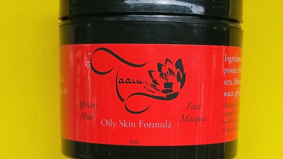 African Mud Face Masque