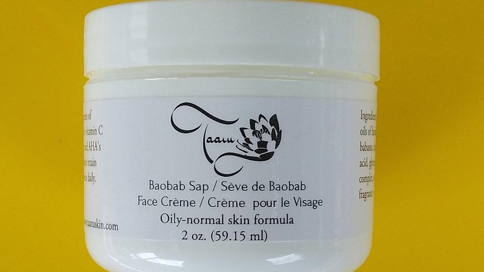 Baobab Sap Face Crème