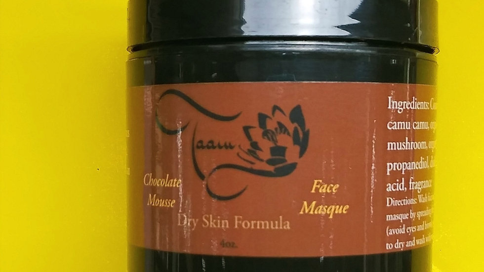 Chocolate Mousse Face Masque