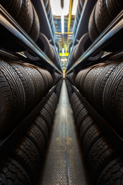 Car tires at warehouse.jpg