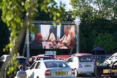 Drive In Cinema screen hire