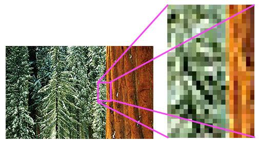 HD LED Screen Pixels