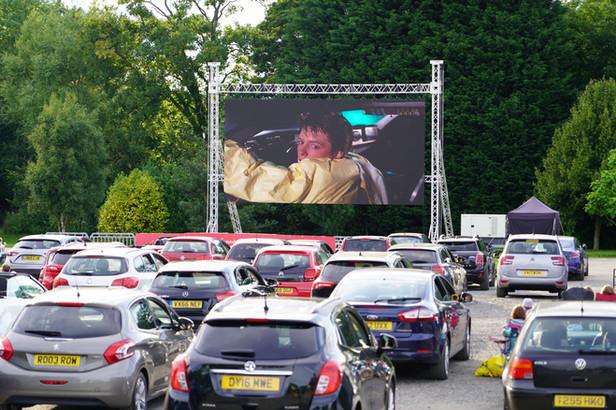 Drive In Cinema Screen
