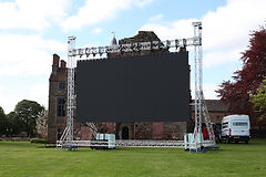 30sqm Outdoor Cinema Screen