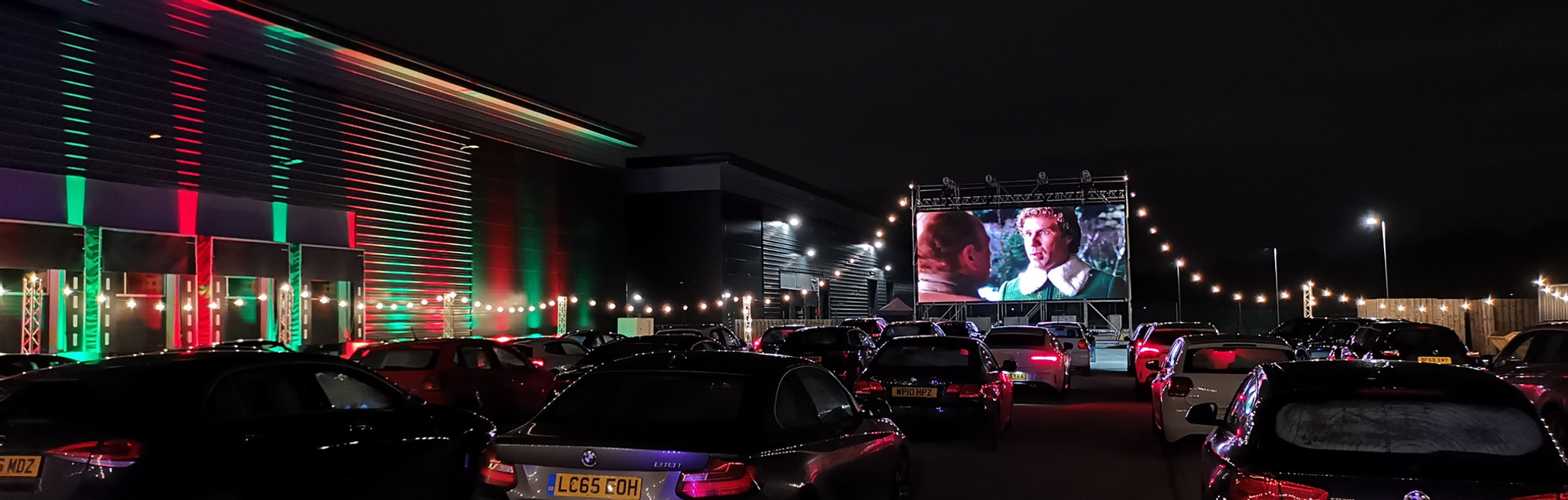 Large Drive-in cinema