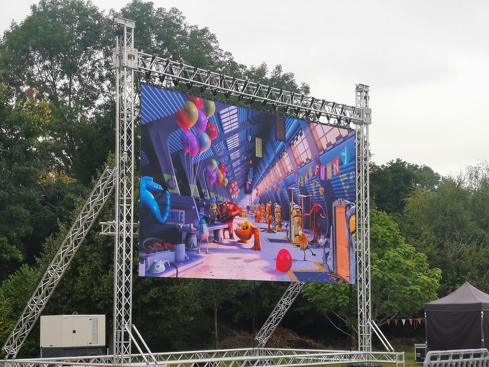 Full HD LED Screen for Outdoor Cinemas