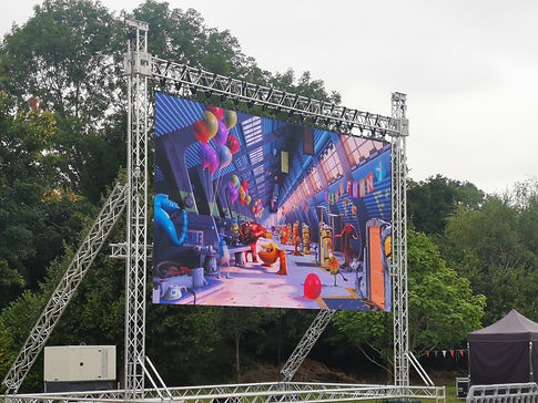 Outdoor Cinema Hire Picture