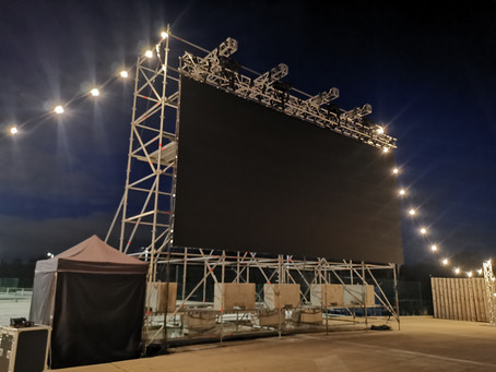 How to ensure a safe drive-in event